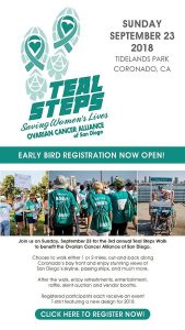 Third Annual Teal Steps Walk
