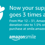 AmazonSmile Triple Donation